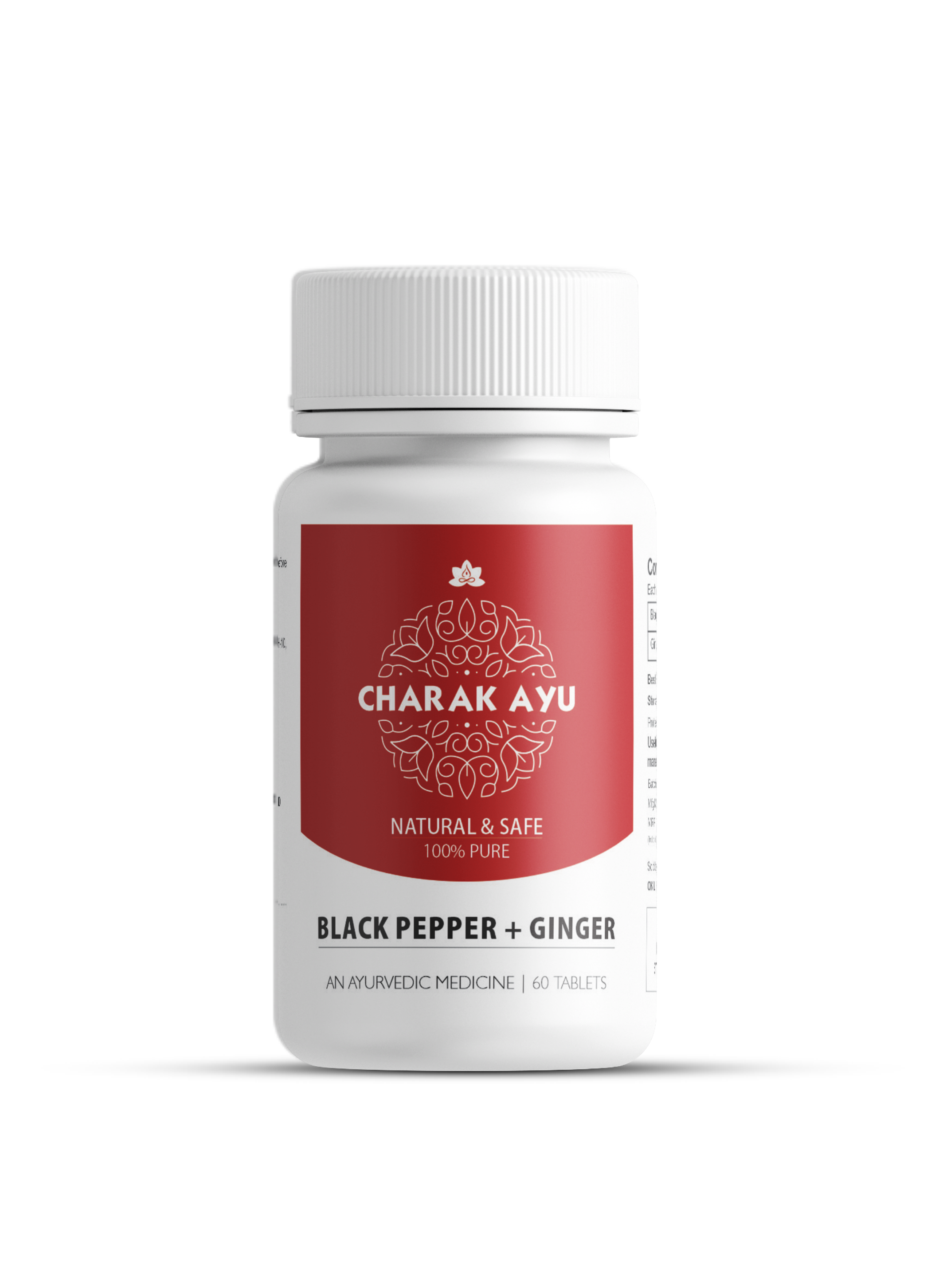 BLACK PEPPER+GINGER